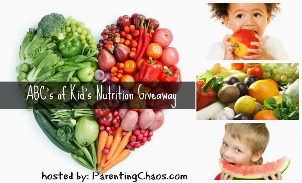 Kids Nutrition Giveaway